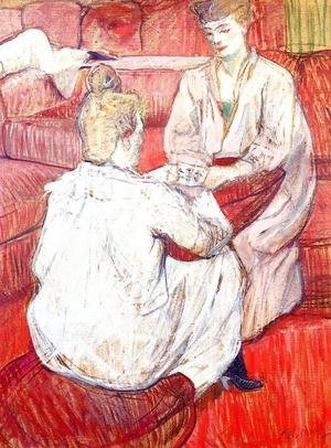 Reproduction oil paintings - Toulouse-Lautrec - The Card Players