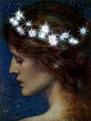 Pre-Raphaelites painting reproductions: Star Of Heaven