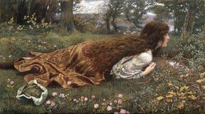 Pre-Raphaelites painting reproductions: The Princess