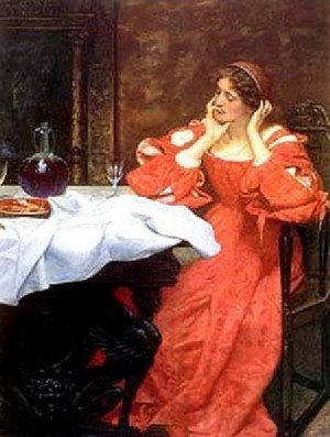 Pre-Raphaelites painting reproductions: The Shrew Katherina