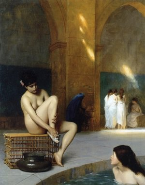 Reproduction oil paintings - Jean-Léon Gérôme - Nude Woman