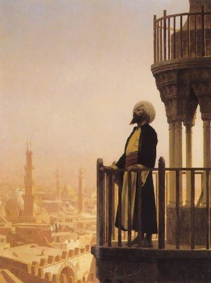 Reproduction oil paintings - Jean-Léon Gérôme - The Muezzin