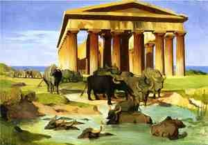 View Of Paestum