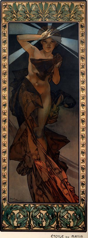 Reproduction oil paintings - Alphonse Maria Mucha - Morning Star