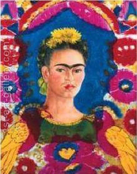 Frida Kahlo: Frame - reproduction oil painting