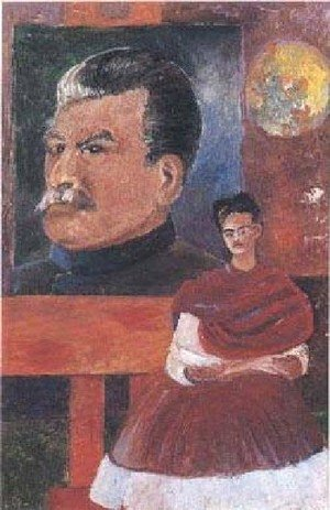 Reproduction oil paintings - Frida Kahlo - Frieda And Stalin