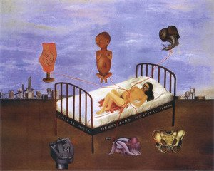 Reproduction oil paintings - Frida Kahlo - Henry Ford Hospital