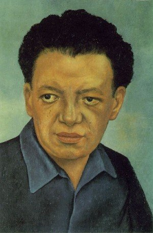 Reproduction oil paintings - Frida Kahlo - Portrait Of Diego Rivera
