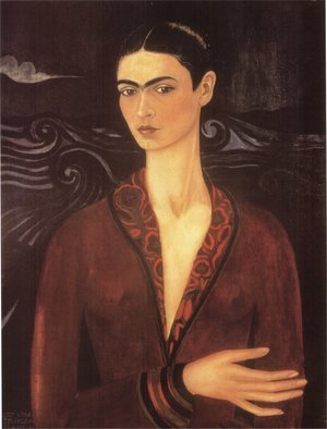 Frida Kahlo reproductions - Self Portrait 1926
