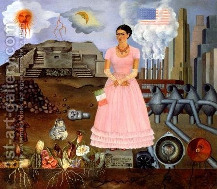 Self Portrait 1932 by Frida Kahlo - Reproduction Oil Painting