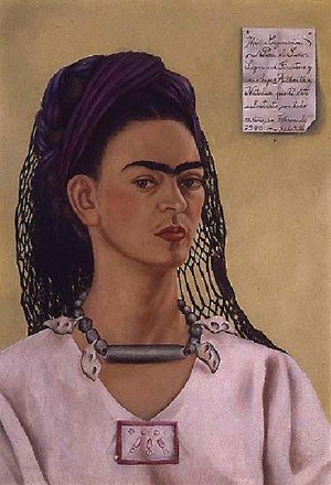 Reproduction oil paintings - Frida Kahlo - Self Portrait 1940 II