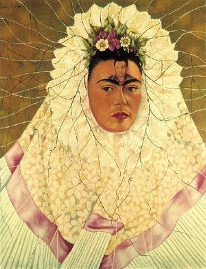 Reproduction oil paintings - Frida Kahlo - Self Portrait As A Tehuana Diego On My Mind