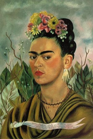 Reproduction oil paintings - Frida Kahlo - Self Portrait II