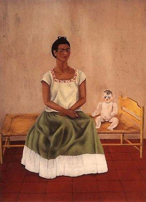 Reproduction oil paintings - Frida Kahlo - Self Portrait On Bed