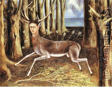 Frida Kahlo: The Little Deer - reproduction oil painting