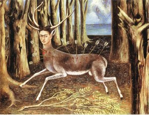 Famous paintings of Figurative: The Little Deer
