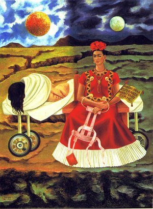 Reproduction oil paintings - Frida Kahlo - Tree Of Hope