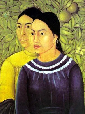Frida Kahlo reproductions - Two Women