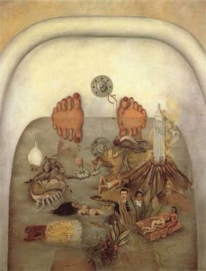 Reproduction oil paintings - Frida Kahlo - What The Water Gave Me