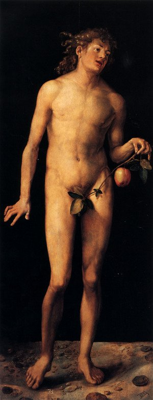 Renaissance - Northern painting reproductions: Adam