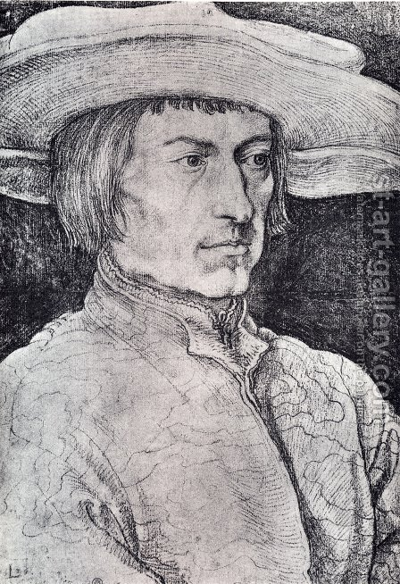 Lucas Van Leyden by Albrecht Durer - Reproduction Oil Painting