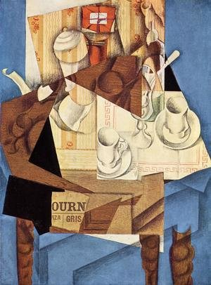 Reproduction oil paintings - Juan Gris - Breakfast