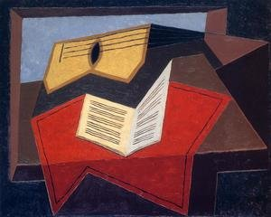 Reproduction oil paintings - Juan Gris - Guitar And Music Paper