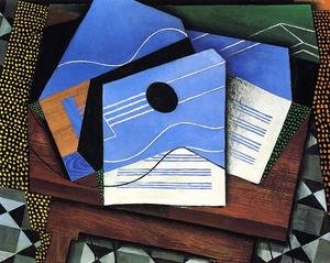 Reproduction oil paintings - Juan Gris - Guitar On A Table