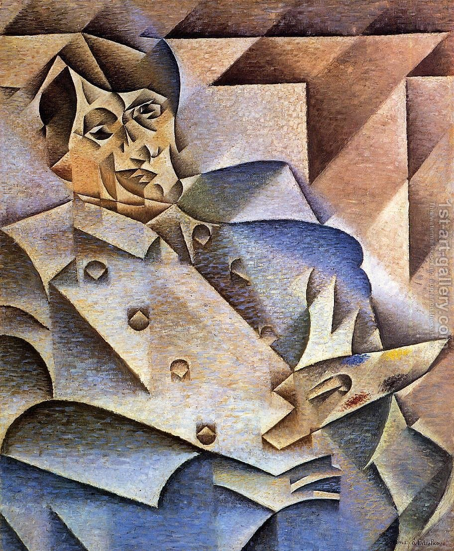 Huge version of Portrait of Pablo Picasso 1912