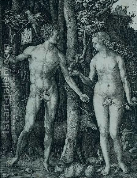 The Fall by Albrecht Durer - Reproduction Oil Painting