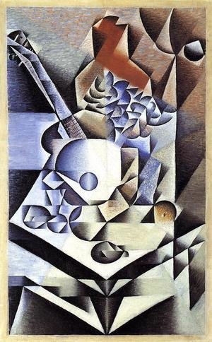 Reproduction oil paintings - Juan Gris - Still Life With Flowers