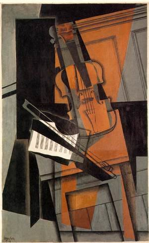 Reproduction oil paintings - Juan Gris - The Violin