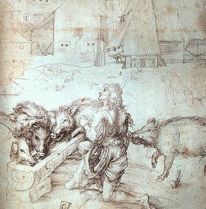 Reproduction oil paintings - Albrecht Durer - The Prodigal Son