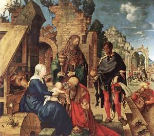 Reproduction oil paintings - Albrecht Durer - Adoration Of The Magi