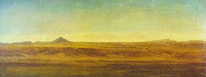 Reproduction oil paintings - Albert Bierstadt - On The Plains