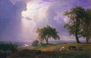 Reproduction oil paintings - Albert Bierstadt - California Spring