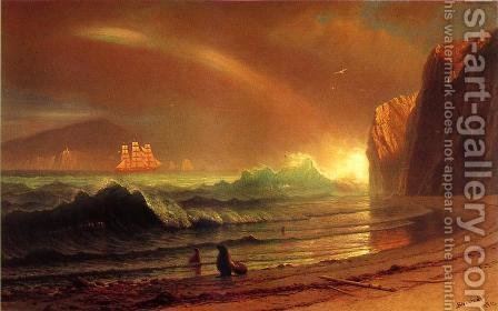 The Golden Gate by Albert Bierstadt - Reproduction Oil Painting