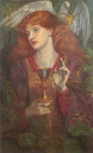 Pre-Raphaelites painting reproductions: The Holy Grail