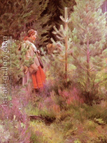 Vallkulla by Anders Zorn - Reproduction Oil Painting