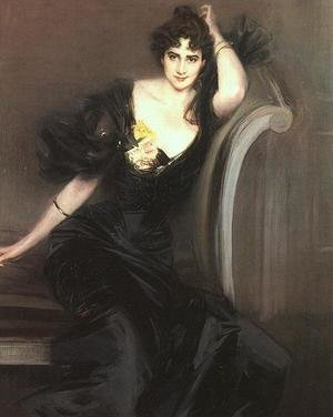 Famous paintings of Portraits: Lady Colin Campbell 1897
