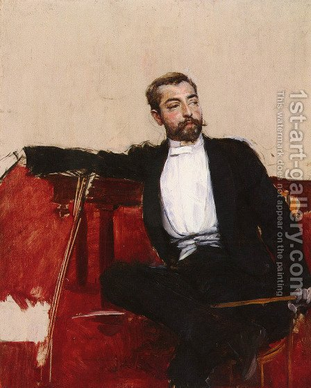 Luomo Dallo Sparato by Giovanni Boldini - Reproduction Oil Painting