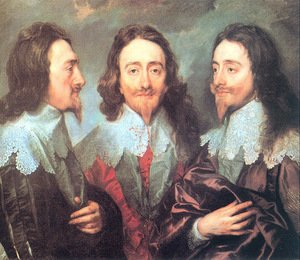 Sir Anthony Van Dyck reproductions - Charles I in Three Positions 1635-36