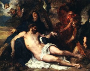 Reproduction oil paintings - Sir Anthony Van Dyck - Deposition 1634
