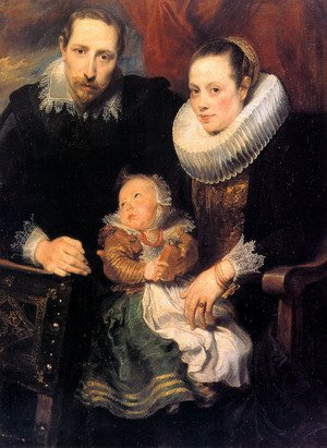 Reproduction oil paintings - Sir Anthony Van Dyck - Family Portrait 1618-20