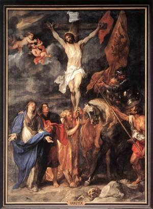 Reproduction oil paintings - Sir Anthony Van Dyck - Golgotha 1630