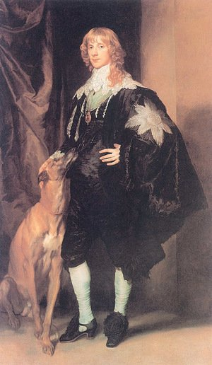 Reproduction oil paintings - Sir Anthony Van Dyck - James Stuart  Duke Of Lennox And Richmond