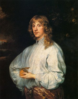 Reproduction oil paintings - Sir Anthony Van Dyck - James Stuart  Duke Of Richmond And Lennox With His Attributes