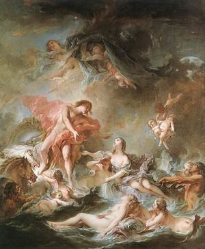 Rococo painting reproductions: The Setting of the Sun 1752