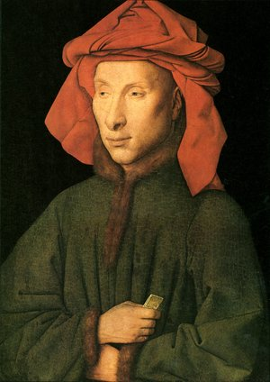 Famous paintings of Men: Portrait Of Giovanni Arnolfini
