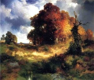Reproduction oil paintings - Thomas Moran - Autumn